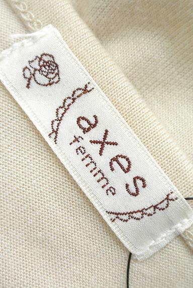axes femme(アクシーズファム)レディース カットソー・プルオーバー PR10178401大画像6へ