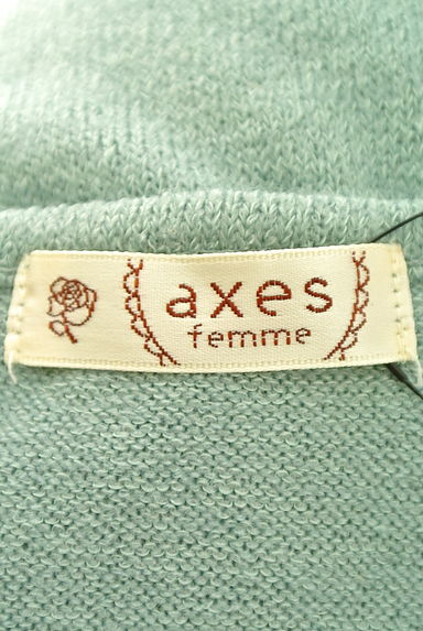 axes femme(アクシーズファム)レディース ニット PR10188693大画像6へ