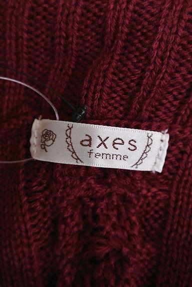axes femme(アクシーズファム)レディース ニット PR10188716大画像6へ