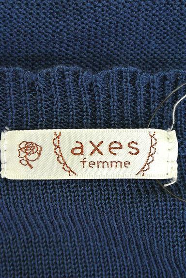 axes femme(アクシーズファム)レディース ニット PR10189167大画像6へ
