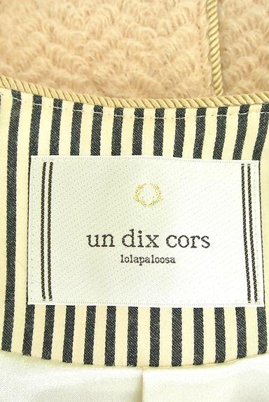un dix cors(アンディコール)レディース コート PR10197280大画像6へ