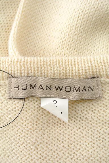 HUMAN WOMAN(ヒューマンウーマン)レディース ニット PR10197752大画像6へ