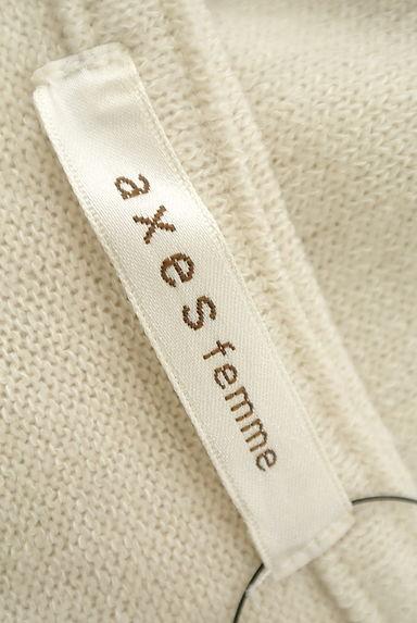 axes femme(アクシーズファム)レディース ニット PR10199158大画像6へ