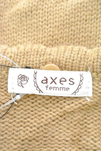 axes femme(アクシーズファム)レディース カーディガン・ボレロ PR10199787大画像6へ