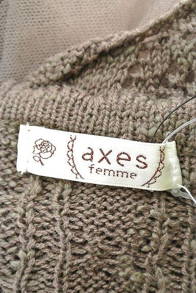 axes femme(アクシーズファム)レディース カーディガン・ボレロ PR10199791大画像6へ