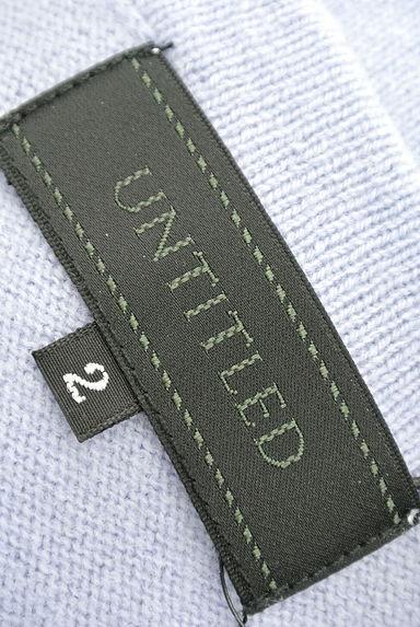 UNTITLED(アンタイトル)レディース ニット PR10199816大画像6へ
