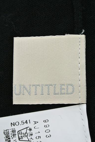 UNTITLED(アンタイトル)レディース ニット PR10199845大画像6へ