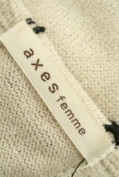 axes femme(アクシーズファム)レディース ニット PR10199929大画像6へ