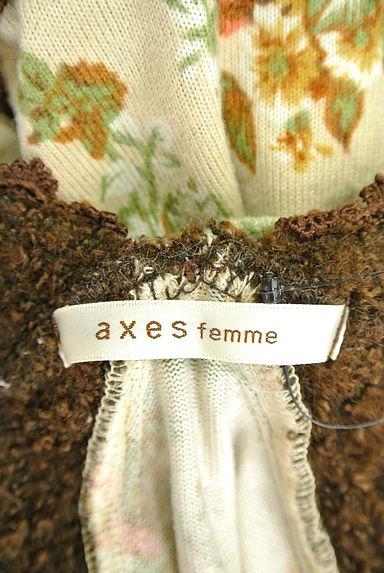 axes femme(アクシーズファム)レディース カットソー・プルオーバー PR10200416大画像6へ