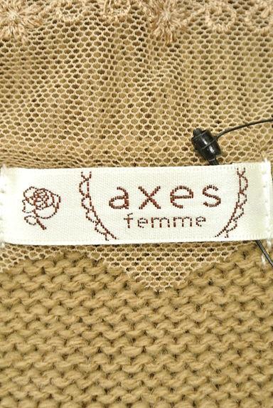 axes femme(アクシーズファム)レディース ニット PR10202708大画像6へ