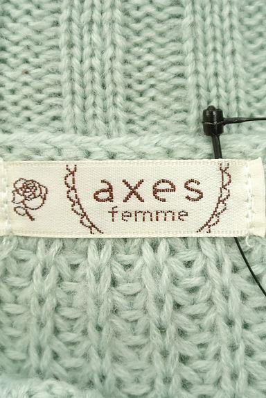 axes femme(アクシーズファム)レディース ニット PR10202717大画像6へ