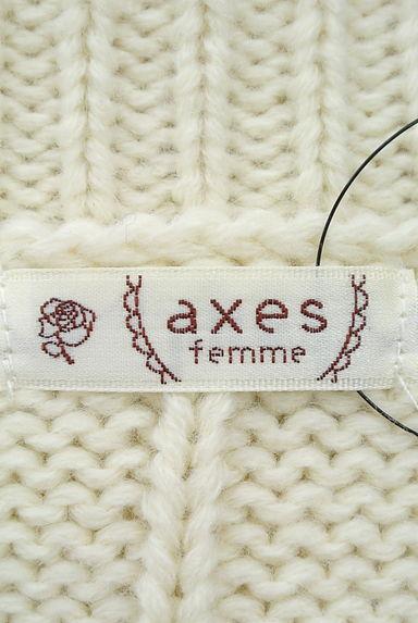 axes femme(アクシーズファム)レディース ニット PR10202724大画像6へ