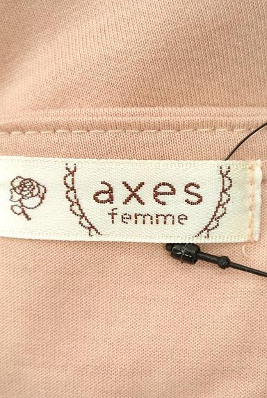 axes femme(アクシーズファム)レディース カットソー・プルオーバー PR10202800大画像6へ