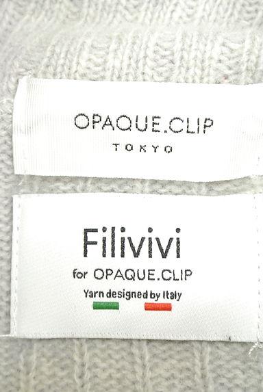 OPAQUE.CLIP(オペークドットクリップ)レディース ニット PR10203508大画像6へ