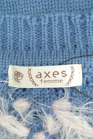 axes femme(アクシーズファム)レディース ニット PR10204697大画像6へ