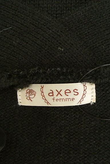 axes femme(アクシーズファム)レディース カーディガン・ボレロ PR10205478大画像6へ