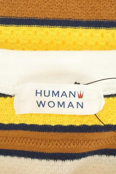 HUMAN WOMAN(ヒューマンウーマン)レディース ニット PR10205588大画像6へ