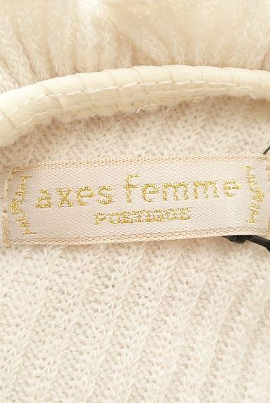axes femme(アクシーズファム)レディース ニット PR10205611大画像6へ