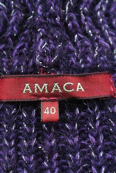 AMACA(アマカ)レディース カーディガン・ボレロ PR10205779大画像6へ