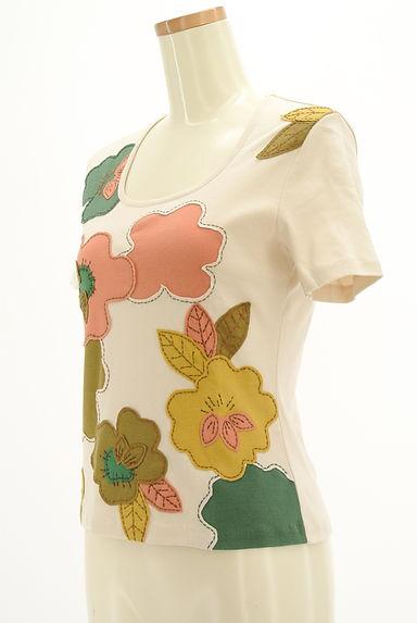 Jocomomola(ホコモモラ)レディース Tシャツ PR10206037大画像3へ