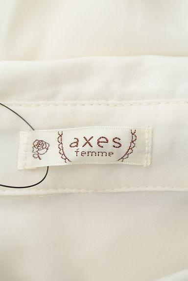 axes femme(アクシーズファム)レディース ブラウス PR10208153大画像6へ