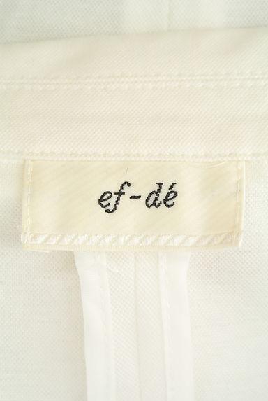 ef-de(エフデ)レディース ジャケット PR10209294大画像6へ