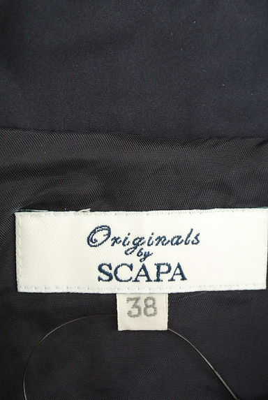 SCAPA(スキャパ)レディース ブルゾン・スタジャン PR10210419大画像6へ