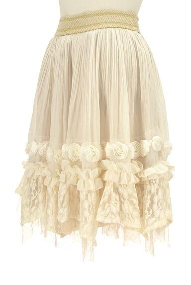 axes femme(アクシーズファム)レディース スカート PR10213391大画像3へ