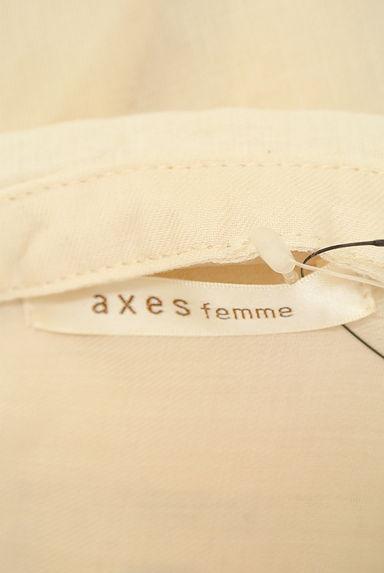axes femme(アクシーズファム)レディース ブラウス PR10213419大画像6へ