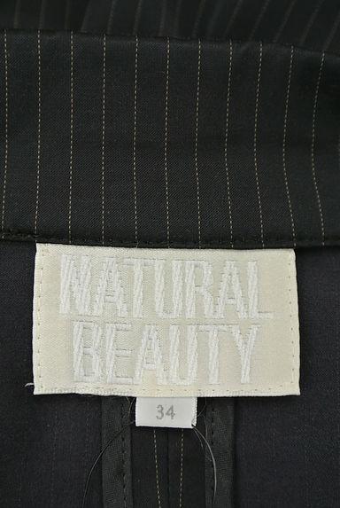 NATURAL BEAUTY(ナチュラルビューティ)の古着「ピンストライプジャケット(ジャケット)」大画像6へ