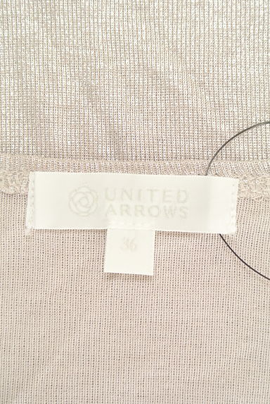 UNITED ARROWS(ユナイテッドアローズ)の古着「無地シンプルカットソー(カットソー・プルオーバー)」大画像6へ