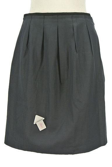 UNTITLED(アンタイトル)の古着「タック入りセミフレアスカート(スカート)」大画像4へ