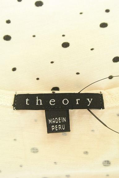 theory(セオリー)レディース カットソー・プルオーバー PR10216321大画像6へ