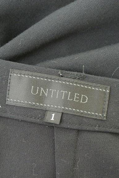 UNTITLED(アンタイトル)の古着「ハイウエスト無地フルレングスパンツ(パンツ)」大画像6へ