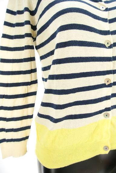 POU DOU DOU(プードゥドゥ)の古着「配色デザインカーディガン(カーディガン・ボレロ)」大画像5へ