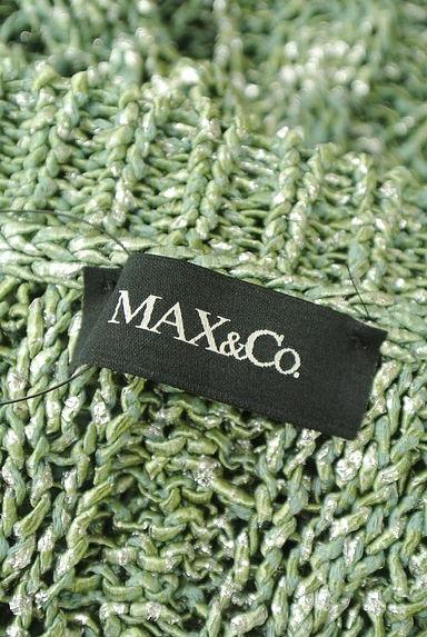 MAX&Co.(マックス&コー)の古着「ラメMIX透かし編みドルマンニット(ニット)」大画像6へ