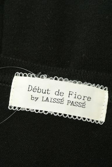 Debut de Fiore by LAISSE PASSE(デビュードフィオレバイレッセパッセ)レディース カーディガン・ボレロ PR10217791大画像6へ