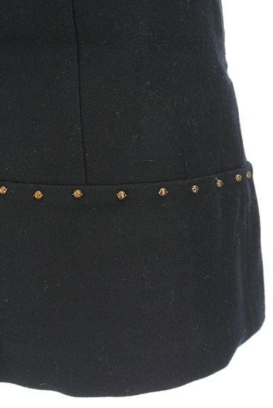JUSGLITTY(ジャスグリッティー)の古着「レザーパイピングセミフレアスカート(ミニスカート)」大画像5へ