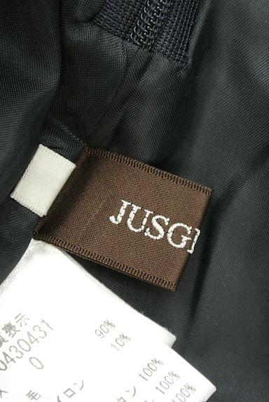 JUSGLITTY(ジャスグリッティー)の古着「レザーパイピングセミフレアスカート(ミニスカート)」大画像6へ