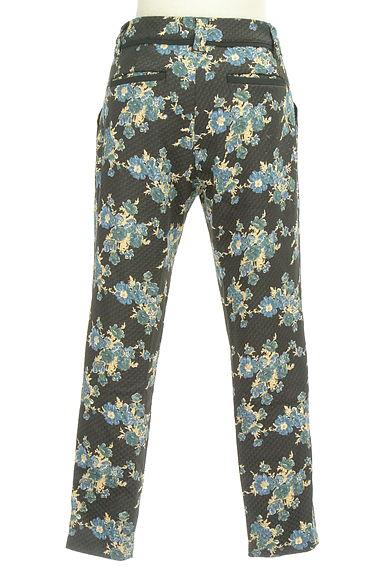 Rouge vif La cle(ルージュヴィフラクレ)の古着「花柄テーパードパンツ(パンツ)」大画像2へ