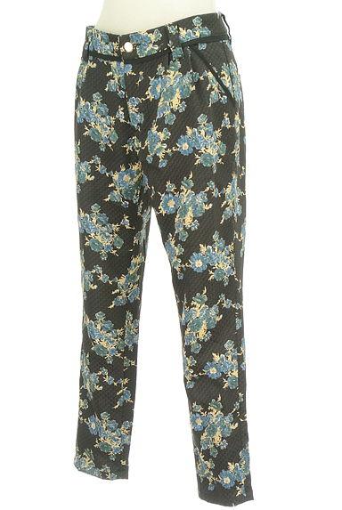 Rouge vif La cle(ルージュヴィフラクレ)の古着「花柄テーパードパンツ(パンツ)」大画像3へ
