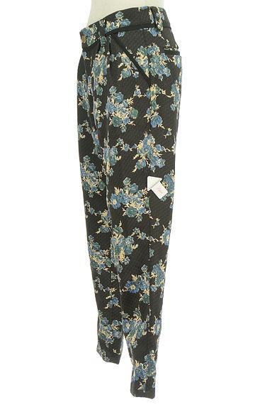 Rouge vif La cle(ルージュヴィフラクレ)の古着「花柄テーパードパンツ(パンツ)」大画像4へ