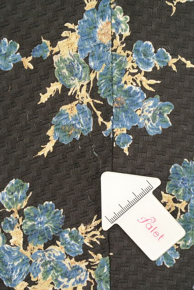 Rouge vif La cle(ルージュヴィフラクレ)の古着「花柄テーパードパンツ(パンツ)」大画像5へ