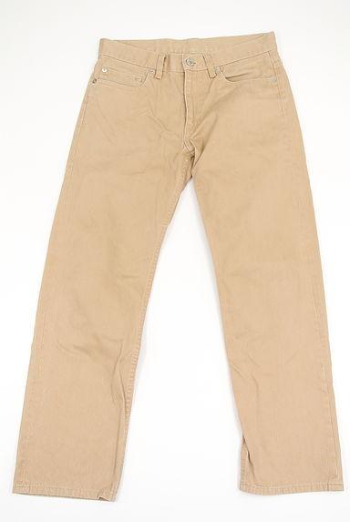 UNITED ARROWS(ユナイテッドアローズ)の古着「無地カラーストレートパンツ(パンツ)」大画像1へ