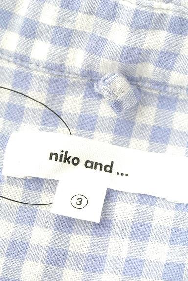 niko and...(ニコ アンド)の古着「(カジュアルシャツ)」大画像6へ