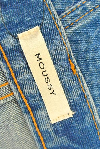MOUSSY(マウジー)の古着「裾フリンジデニムスカート(ミニスカート)」大画像6へ