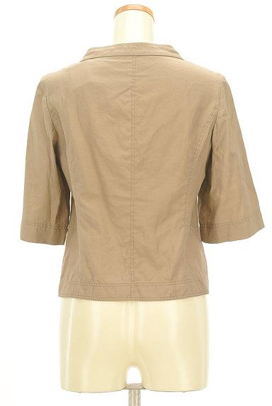 LAUTREAMONT(ロートレアモン)の古着「ポケット付薄手五分袖ブルゾン(ジャケット)」大画像2へ