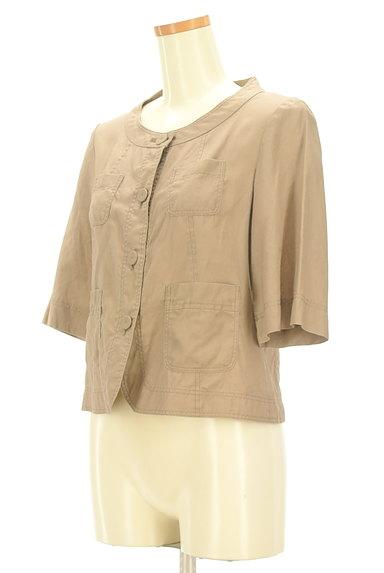 LAUTREAMONT(ロートレアモン)の古着「ポケット付薄手五分袖ブルゾン(ジャケット)」大画像3へ