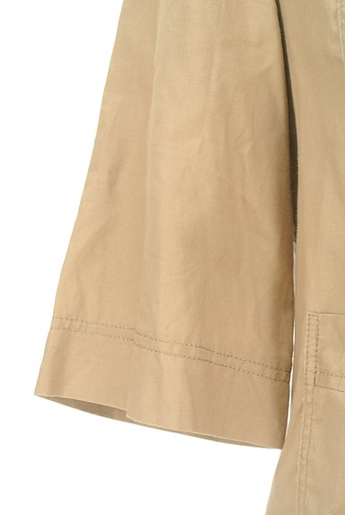 LAUTREAMONT(ロートレアモン)の古着「ポケット付薄手五分袖ブルゾン(ジャケット)」大画像4へ