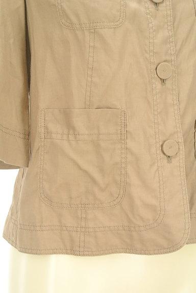 LAUTREAMONT(ロートレアモン)の古着「ポケット付薄手五分袖ブルゾン(ジャケット)」大画像5へ